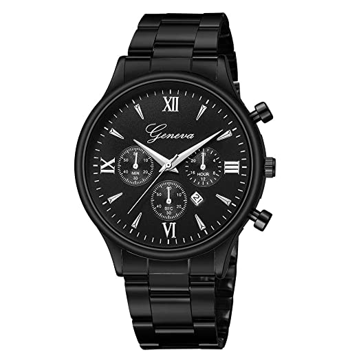 ... Watch with Stainless Steel Band Alloy Cases Under 10 Casual Wrist Watches Luxury Watches on Sale on Clearance Relojes De Hombre Gifts for Dad Boyfriend