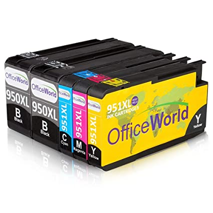 OfficeWorld 950XL 951XL Reemplazo para HP 950 951 Alta Capacidad ...