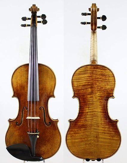 LOIKHGV Violines- Un Gran violín Stradivarius violín 4/4, como se Muestra: Amazon.es: Hogar