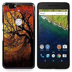 "S-type Naturaleza Pájaros Primavera Otoño Invierno"" - Arte & diseño plástico duro Fundas Cover Cubre Hard Case Cover For Huawei Google Nexus 6P"