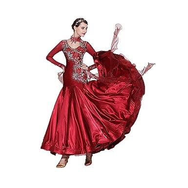 Vestido De Baile Flamenco De Tango For Mujer Traje De Baile ...