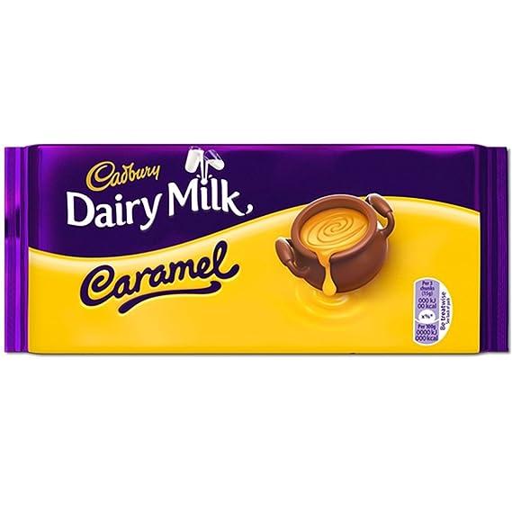 Cadbury 200 G De Leche De Vaca De Caramelo (Caja De 14)