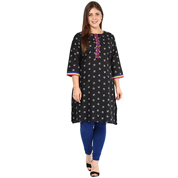 Alto Moda by Pantaloons Women's Flared Kurta Women's Kurtas & Kurtis at amazon