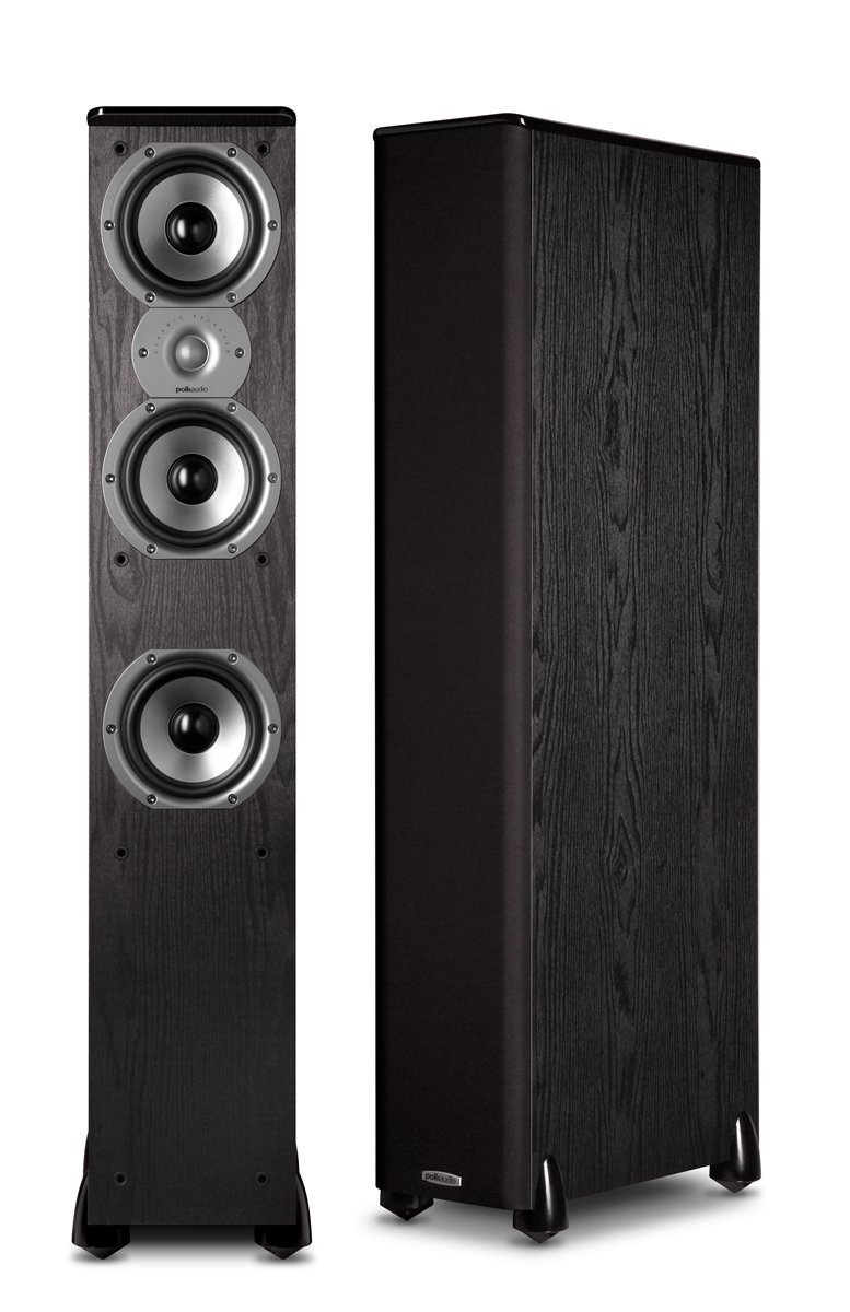 Polk Audio TSi400 Floorstanding Speakers (Pair Black)