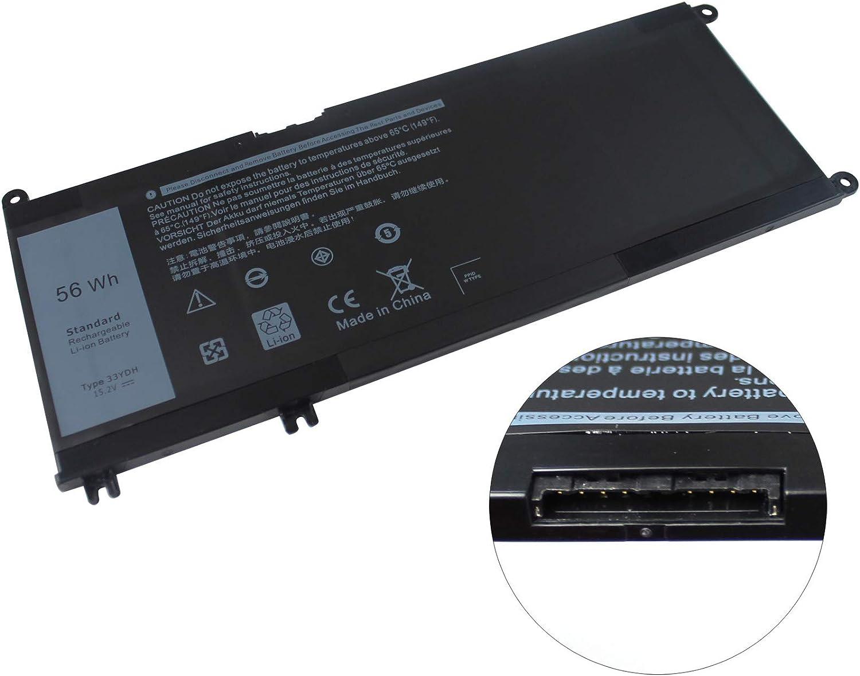 Easy&Fine 33YDH Laptop Battery for Dell Inspiron 13 15 17 7353 7000 7778 7779 7773 Series G3 15 3579 G3 17 3779 G5 15 5587 G7 15 7588 fits PVHT1 DNCWSCB6106B 56WH 4 Cell 15.2V