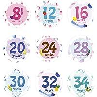 shangjunol 14 Hojas/Sistema del Mes del bebé recién