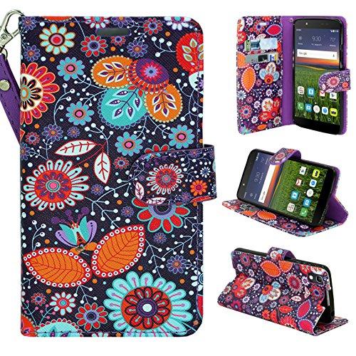 alcatel-idol-4-6055k-52-case-customerfirst-pu-leather-luxury-flip-design-wallet-pouch-phone-case-for