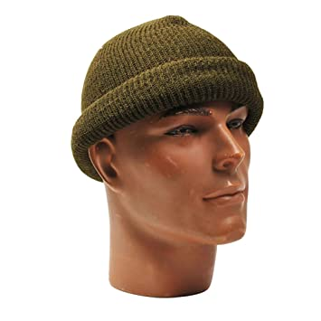 Commando Wool Hat Olive Green  Amazon.co.uk  Sports   Outdoors d6403578ac4