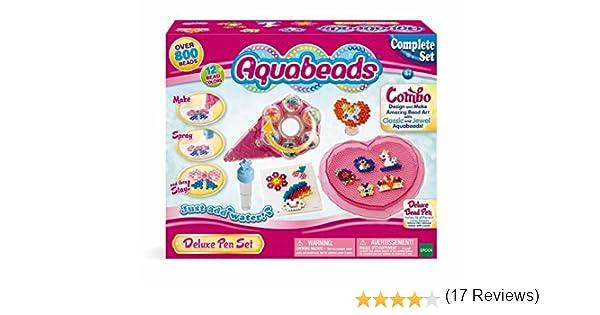 AQUA BEADS Aquabeads Deluxe – Bolígrafo de Juguete: Amazon.es: Juguetes y juegos
