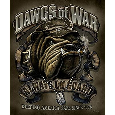 JQ Dawgs of War Bull Dog Signature Select Soft Plush Queen