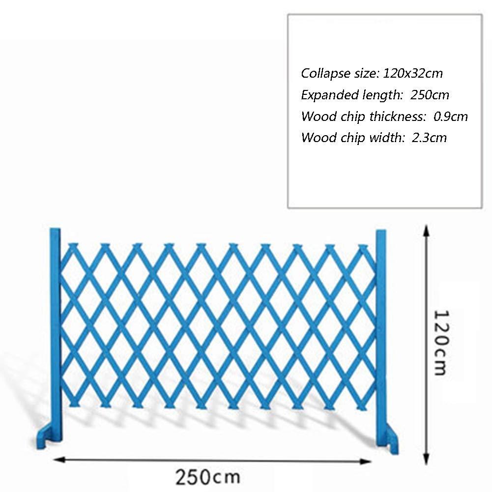 80X35CM 5 tama/ños 3 Colores Proceso de carbonizaci/ón anticorrosi/ón Madera de Pino Azul GR5AS Valla de jard/ín para decoraci/ón al Aire Libre para ni/ños con cercas de Seguridad de Animales