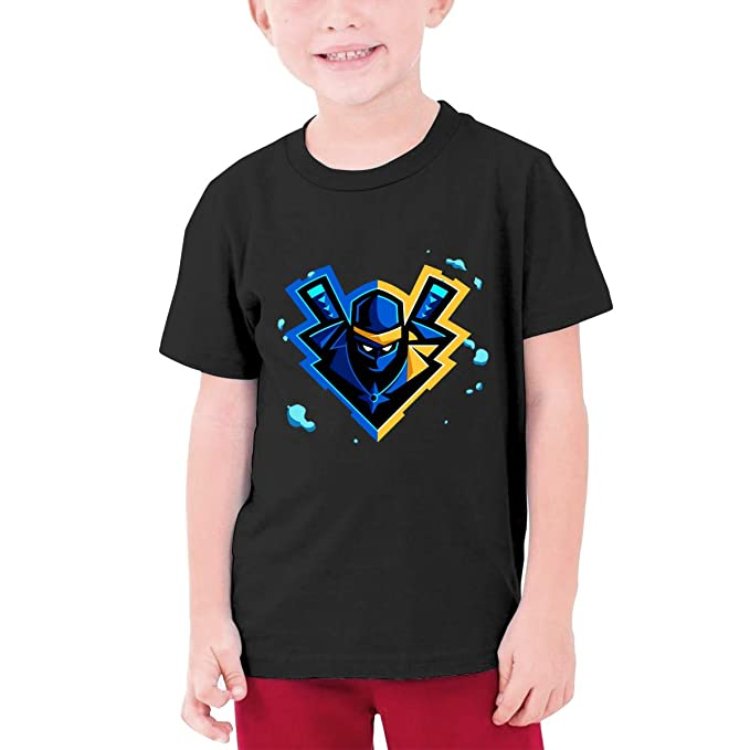 Amazon.com: Troom Ninja YouTube Game Teens Funny T-Shirt ...