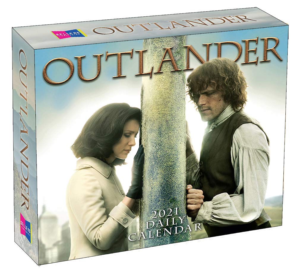 2021 Outlander Boxed Daily Calendar: Starz: 9781531911058: Amazon