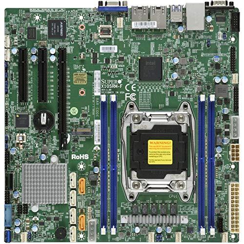 Supermicro LGA2011, Intel C612, DDR3, SATA3 & USB3.0, V & 2GbE, MicroATX Server Motherboard X10SRM-F-O (Supermicro Motherboards)
