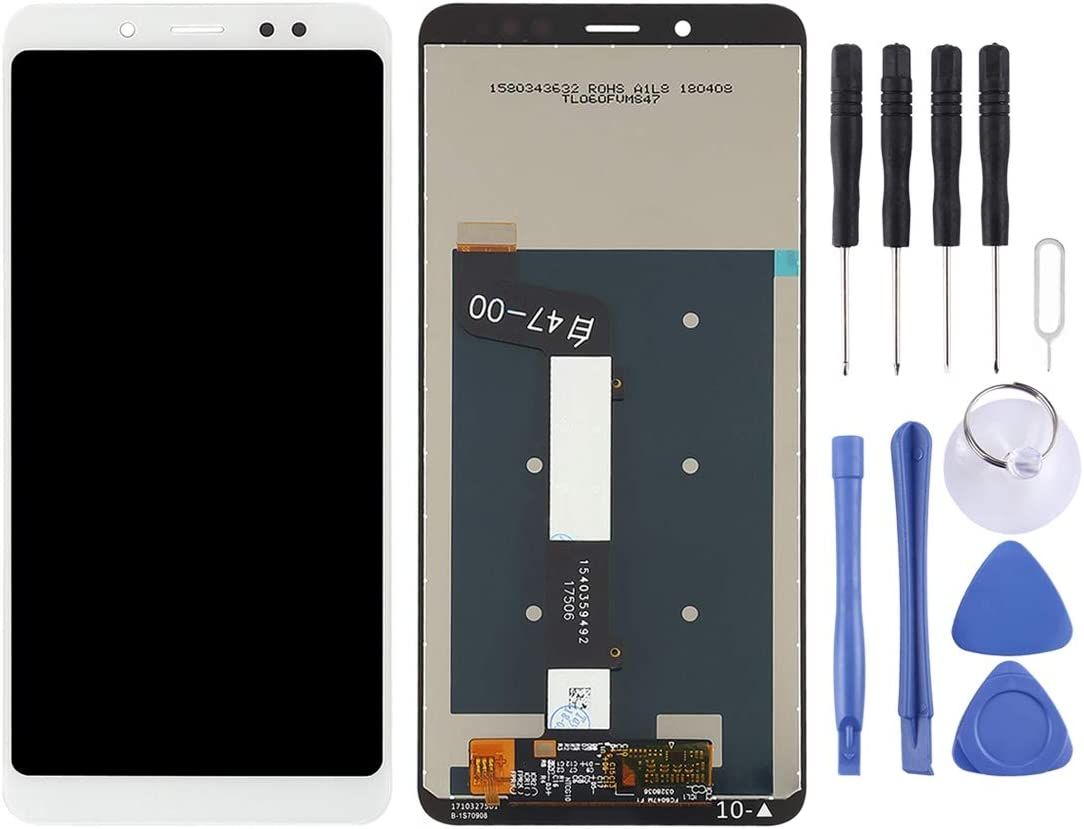 Note 5 Pro Color : Black LIYUNSHU LCD Screen and Digitizer Full Assembly for Xiaomi Redmi Note 5 Black