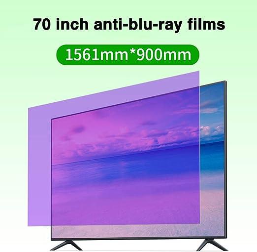Películas De 70 Pulgadas Anti-BLU-Ray TV Protector De Pantalla ...