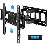 Everstone Full Motion TV Wall Mount with Height Adjustment for Most 32-65 inch LED, LCD, OLED Flat&Curved TVs, Bracket…