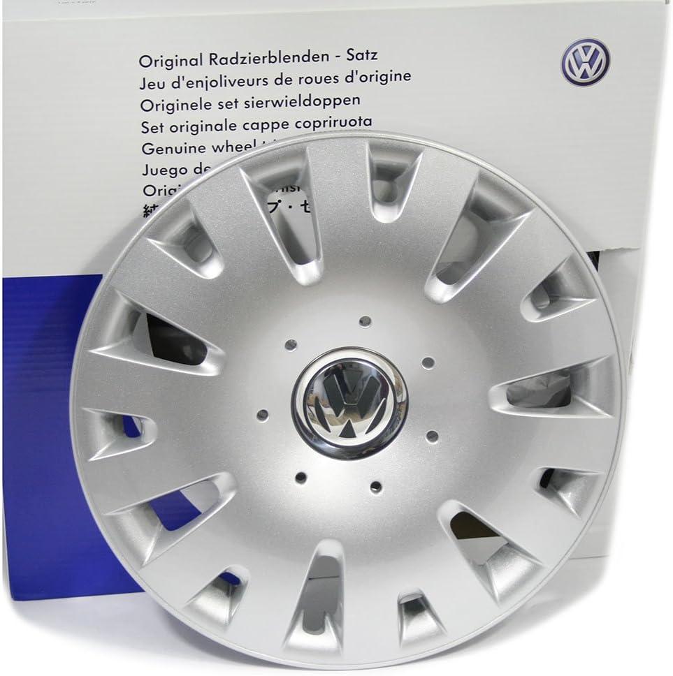 Volkswagen 4 tapacubos Originales, 14 Pulgadas: Amazon.es: Coche y ...