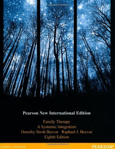 Family Therapy: A Systemic Integration by Dorothy Stroh Becvar Ph.D. (2013-11-01)