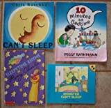 img - for Bedtime: Set of 4 Children's Picture Books (10 Minutes Till Bedtime ~ Monster Can't Sleep ~ Sleepytime Rhyme ~ Can't Sleep) book / textbook / text book