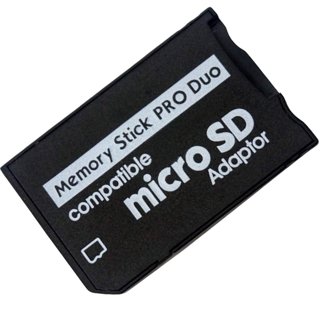 Adaptador de tarjetas de memoria Micro SD adaptador de Memory Stick PRO Duo TF a MS Tools