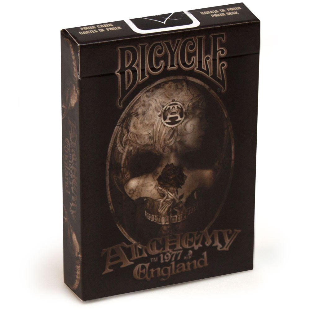 Alchemy II 1977 England Playing Cards by Bicycle