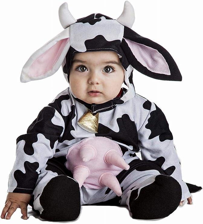 Disfraz Vaca Bebe Talla 7-12 Meses: Amazon.es: Juguetes y juegos
