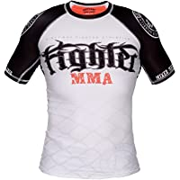 Dirty Ray MMA Don't Give Up The Fight t-Shirt Rashguard Homme RG3