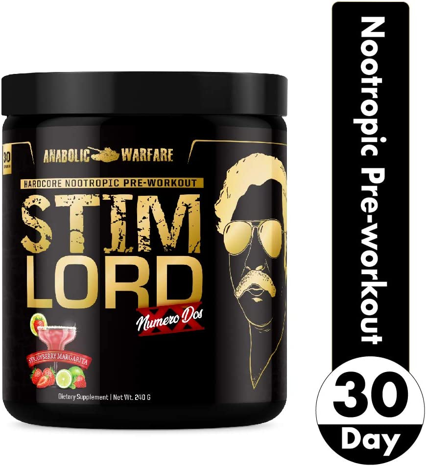 Stim Lord Numero Dos by Anabolic warfare – Strawberry Margarita