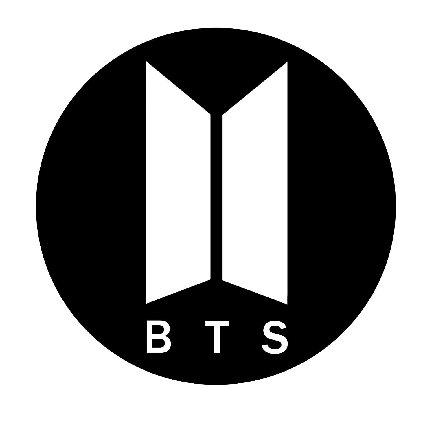 New BTS Symbol Worldwide K-Pop Decal Vinyl Sticker 4 x 4. Comes in different colors. Select from the option menu.