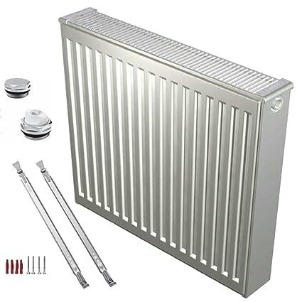 Buderus compacto radiador tipo 33 - 500 x 700 con soporte