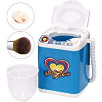 Electric Mini Washing Machine for Make up Brushes with Dehydration Function - Quick Cleaning & Quick Drying Washing Machine Children Toy Gift(3)