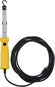 Bayco SL-2135 1,200 Lumen Corded LED Work Light w/Magnetic Hook, Yellow