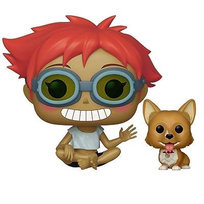 Funko Pop & Buddy Animation: Cowboy Bebop - Edward & EIN Collectible Figure, Multicolor: Toys & Games