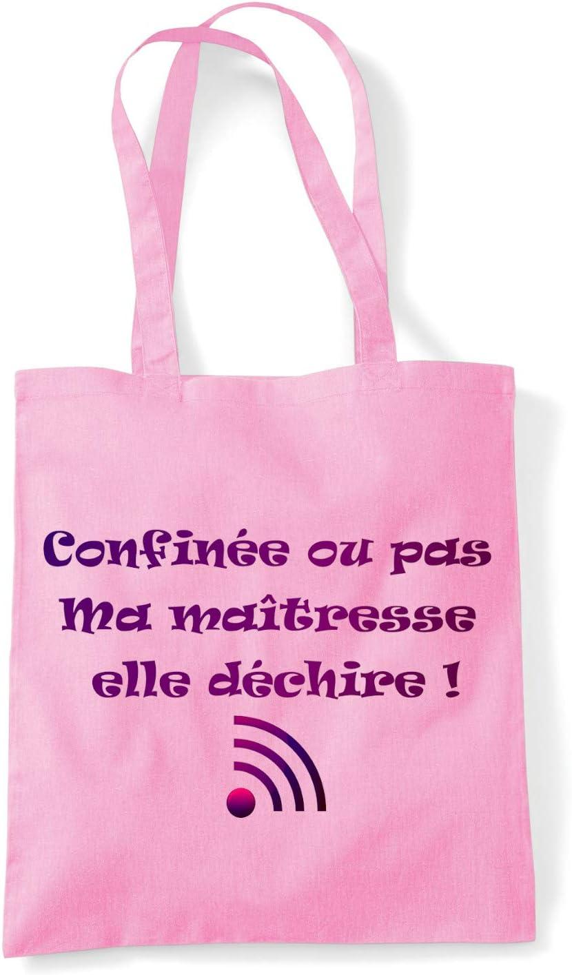 Sac 100/% Coton id/ée Cadeau Sublimagecreations Tote Bag ma/îtresse sp/écial Confinement Sac Course Cabas Sac Shopping