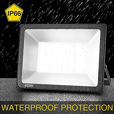 Warm White, 400W 110V, China : SOLLA waterproof LED Flood Light 60W 400W 300W 200W 150W 100W 30W Reflector searching light garden Spotlight Outdoor Wall Lamp