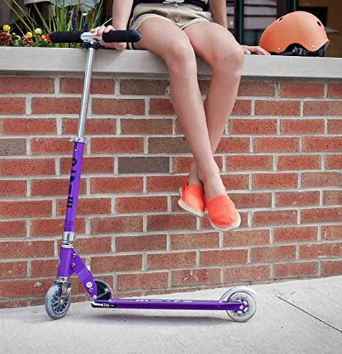 Micro Kickboard – Sprite 2-Wheeled, Smooth-Gliding, Foldable Micro Scooter for Kids Ages 8 to Adult