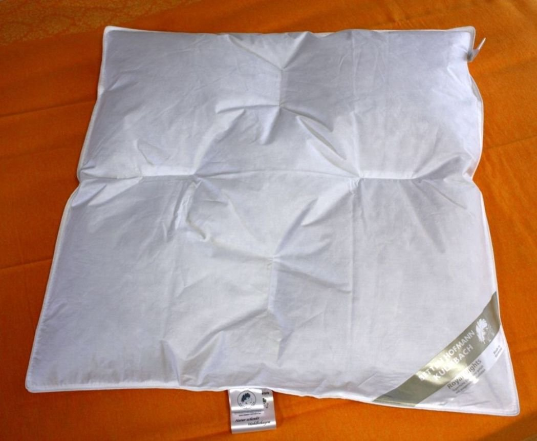 Betten Hofmann Baby Daunenbett 80x80 cm Steppbett Babydaunendecke