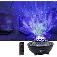 Galapara Starry projektör ışığı, uzaktan kumandalı LED gece lambası, romantik Starlit Sky projeksiyon lambası, 3…
