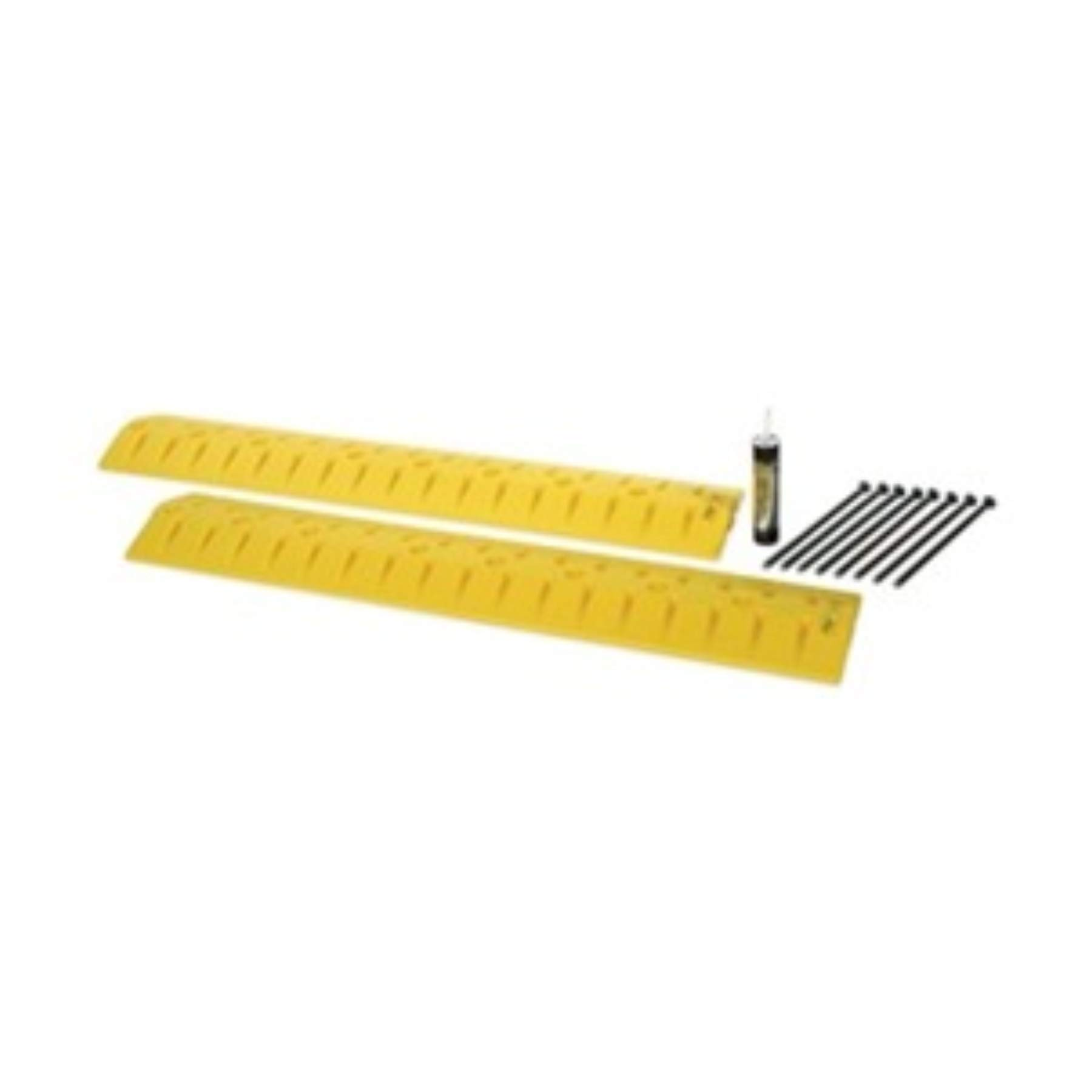 Eagle 1793 Speed Bump Cable Protector, 108'' Length x 10'' Width x 2'' Height, Yellow by Eagle
