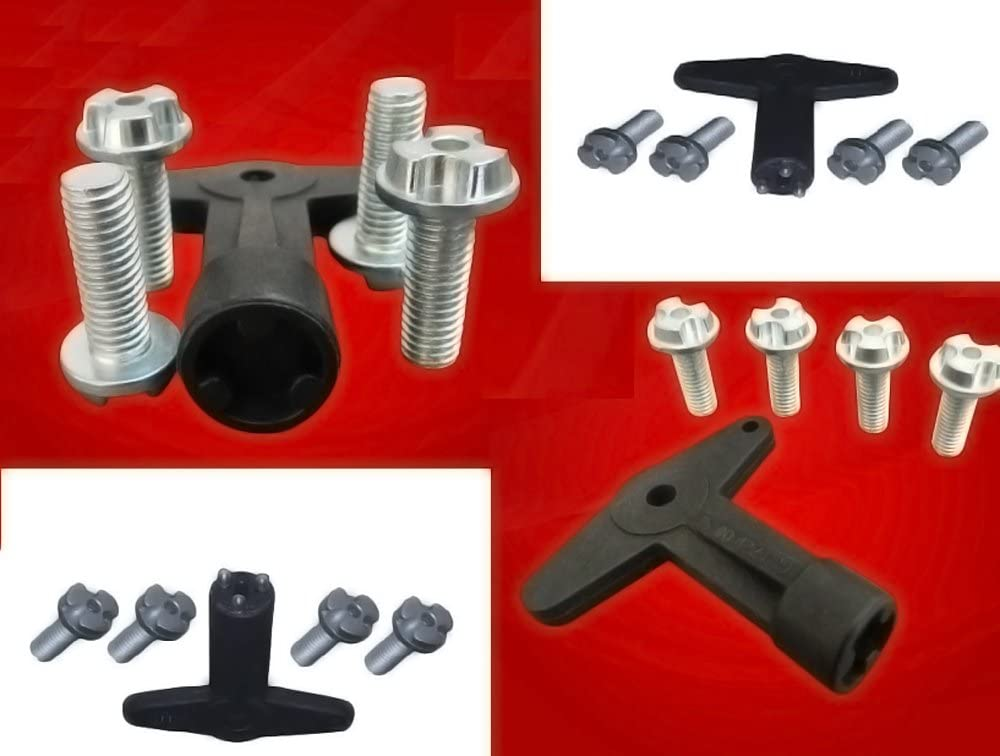 Twowinds key Megane Kangoo Clio Astra Corsa Meriva Vectra 7700422600 Alloy wheel centre cap screws bolts