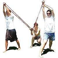 Water Balloon Launcher Slingshot 500 Yards Long Range, 2-3 Person Balloon Giant Sling Shot T-Shirt Launcher Cannons…