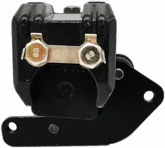 Compatible with Yamaha 2001-05 YFM 660 Raptor Rear Brake Caliper with Pads with Bracket Gift