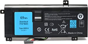 Fully New M14X G05YJ (11.1V 69WH) Replacement Laptop Battery Compatible with Dell Alienware 14 A14 M14X R4 14D-1528 ALW14D 0G05YJ Y3PN0 8X70T ALW14D-4828