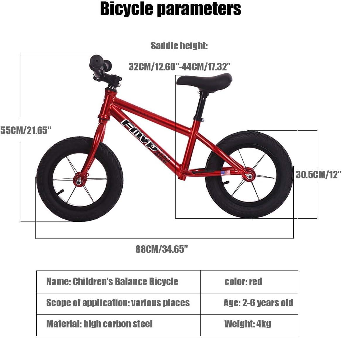 MLSH Bicicleta de 12