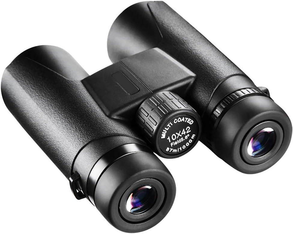 Binoculares Largavista Profesionales Prism/áticos 10x42 Afloia Binoculares Impermeables,de Largo Alcance y Potentes para Adultos Ideales para Caza