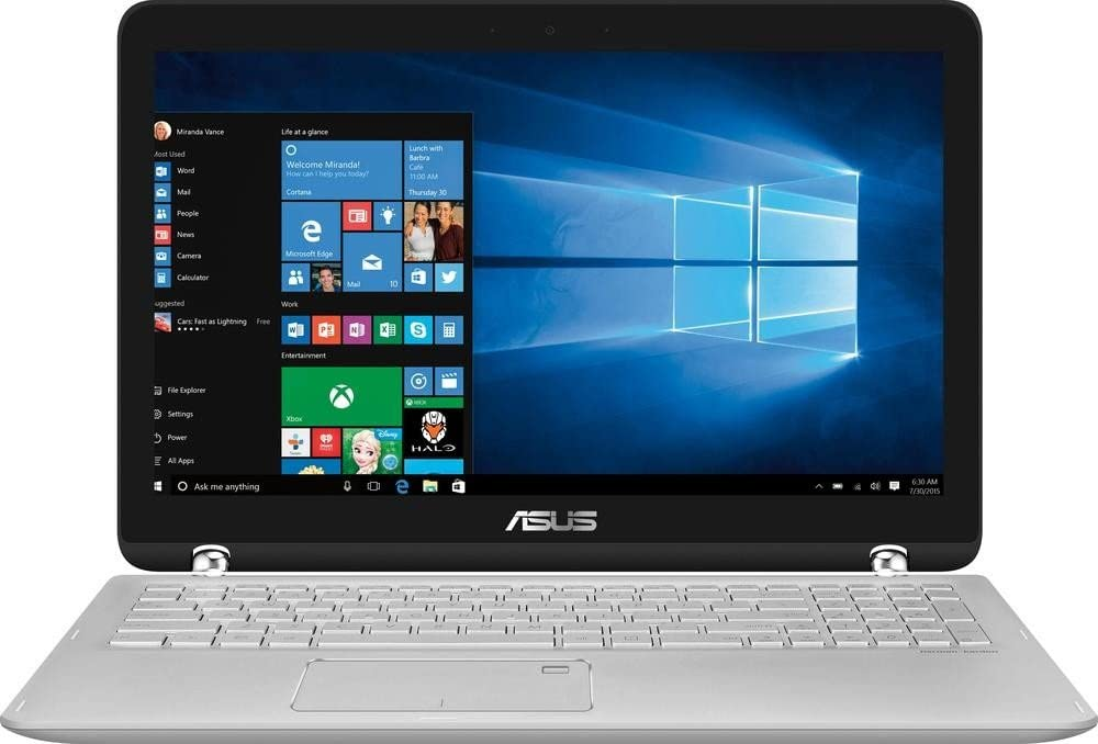 """2017 Asus 2-in-1 15.6"""" Touch-Screen 1920x1080 LED Backlit Display High Performance Laptop, Intel Core i5 2.5 GHz, 12GB RAM, 1TB HDD, WiFi-AC, Bluetooth, HDMI, media reader, Webcam, Windows 10"""