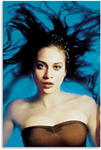 IKJHG Fiona Apple Rolling Stone Canvas Art Poster and Wall Art Picture Print Modern Family Bedroom Decor Posters 12x18inch(30x45cm)