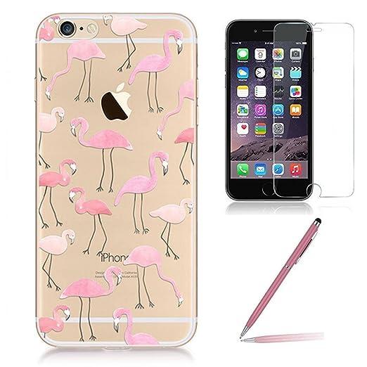 68 opinioni per Custodia iPhone 6/6s [Pellicola Protettiva in Vetro Temperato], Yoowei® Design