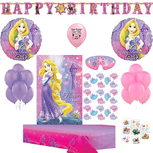 Disney Tangled Deluxe Party Game Bundle ()